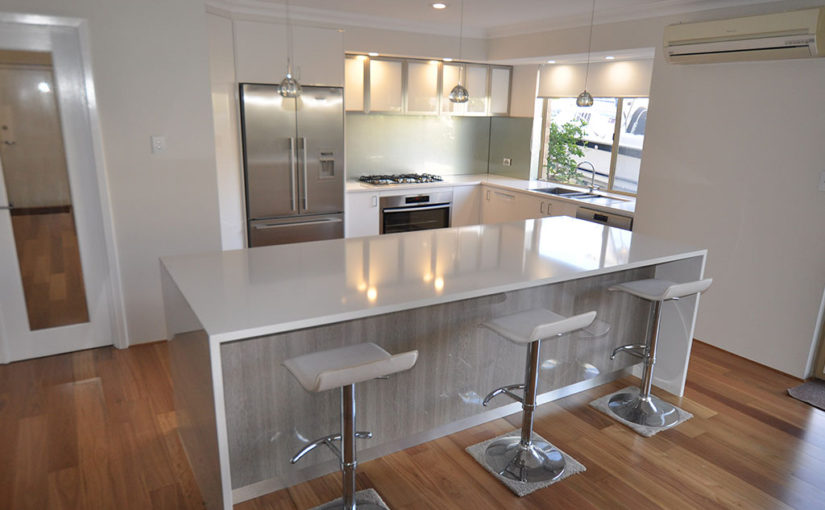 Cost effective kitchen renovations in perth flexi kitchens for Kitchen designs perth